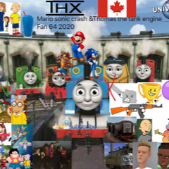 Mario sonic crash &thomas the tank engine Fan 64
