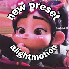 New Preset Alight Motion