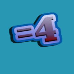 Equals 4
