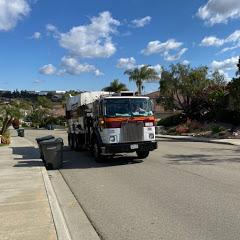Garbage trucks of San Marcos Ca