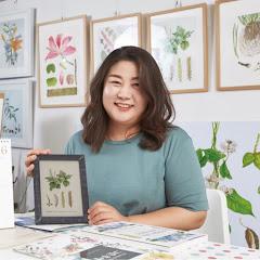 꽃그림 보태니컬아트 신소영Botanical Artist