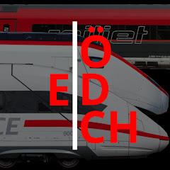 Eisenbahn in Ö, D, CH