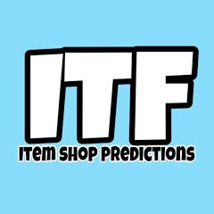 ITF - ITEM SHOP PREDICTIONS