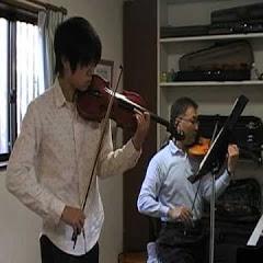 山本バイオリン教室生徒さんの演奏風景