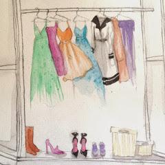 O mundo no guarda roupa por Fatima Souza