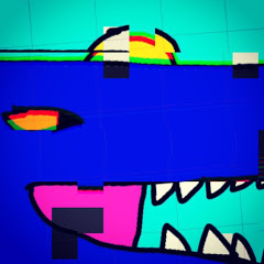 Blue T. rex