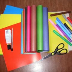 Поделки из цветной бумаги