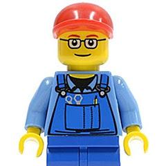 The Lego Builder