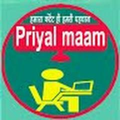 Priyal ma'am Reasoning