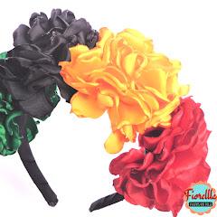 Fiorella flores en tela