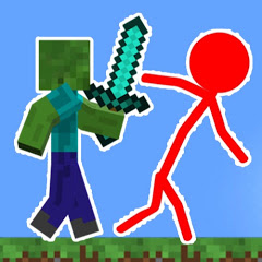 Sticktoon - Minecraft vs Stickman