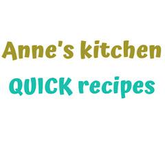 Anne's recipes