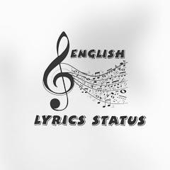 English lyrics status