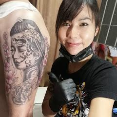 ร้านสัก ช่างแบม Artist Girl Tattoo