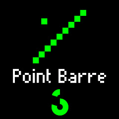 Point Barre: Édition Pixel