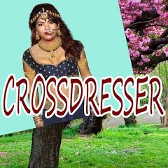 CROSSDRESSER SAREE AND NAVEL