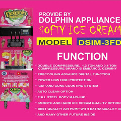 DOLPHIN SODA MACHINE M- 7575050675