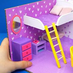 DIY Cardboard House easy