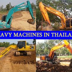 HEAVY MACHINES IN THAILAND