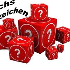 Sechs Fragezeichen