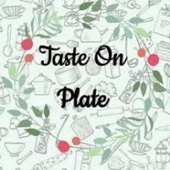 Taste on Plate With GAURI