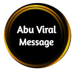 Abu Viral Message