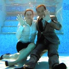 underwater clothed