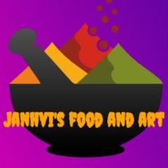 Janhvi's food and art