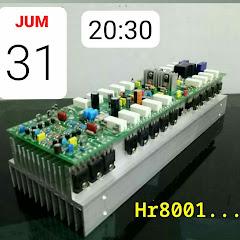 AUDIO amplifier bandarpower