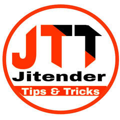 Jitender Tips & Tricks