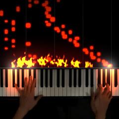 The Flaming Piano