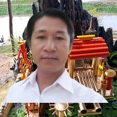 tiểu cảnh ống nhựa bamboo