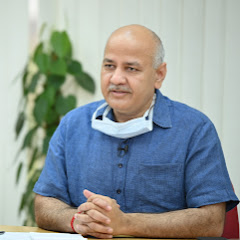 Manish Sisodia at Work