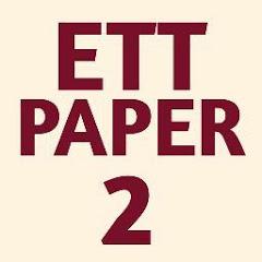 ETT PAPER 2