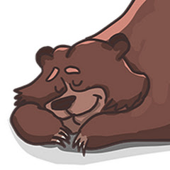 Un orso in campagna!