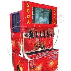 Real beverage soda machine