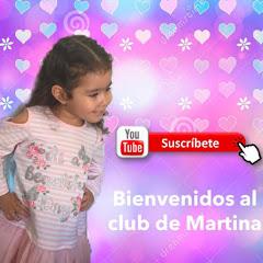 Bienvenidos al club de Martina