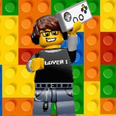 Блогер из лего and games