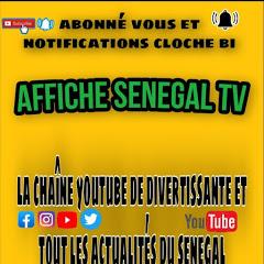 affiche senegal tv