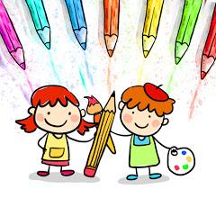 如何绘画和颜色孩子电视 - Chinese